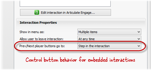 How to Control the Behavior of Prev/Next buttons for